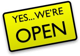 WE ARE OPEN DURING HALF-TERM HOLIDAYS 2019