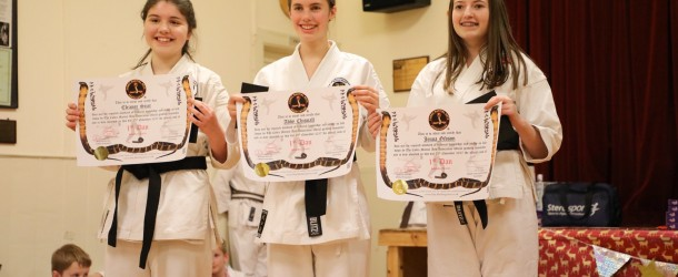 CONGRATULATIONS TO OUR 1ST DAN BLACKBELTS